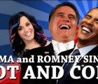 "Obama y Romney cantan ""Hot and Cold"" de Katy Perry"