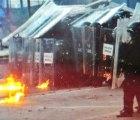 Un VIDEO capta los disturbios ocurridos en Avenida Juárez