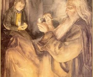 lee-lotr_Frodo_and_Gandalf