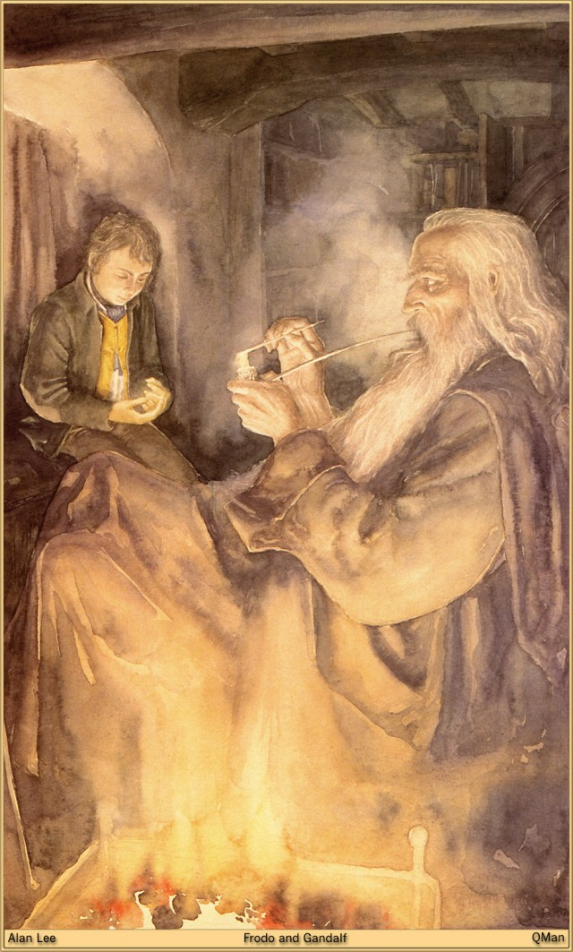 lee-lotr_Frodo_and_Gandalf