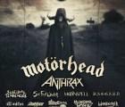 ¡Motörhead y Anthrax en Guadalajara!