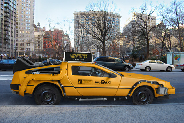 taxidelorean