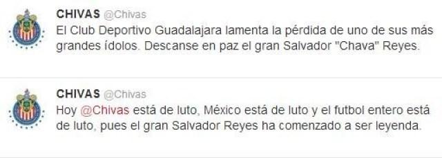 tweet chivas