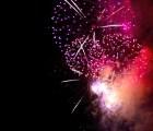 El hipnótico video de un espectáculo pirotécnico en reversa