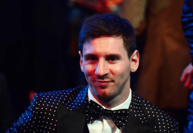 Messi Entrega Balon de Oro