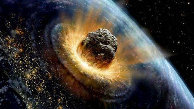 La tierra sufrirá el impacto de un asteroide que cambiará su faz para siempre.