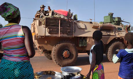 Mali French army vehicle