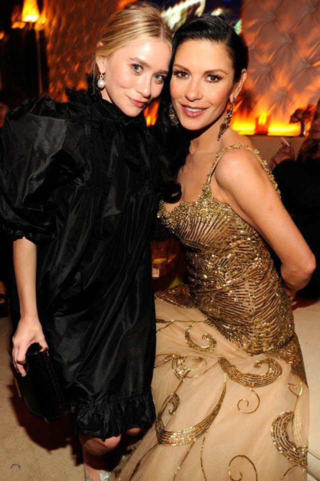 AfterPartyVanityFair Ashley Olsen y Catherine Zeta-Jones copy