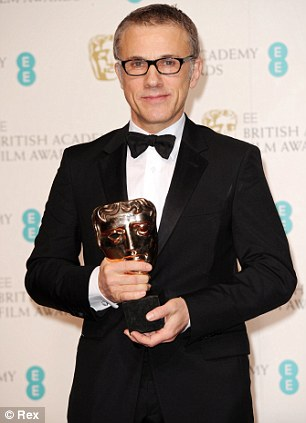Mejor actor de reparto, Christoph Waltz.