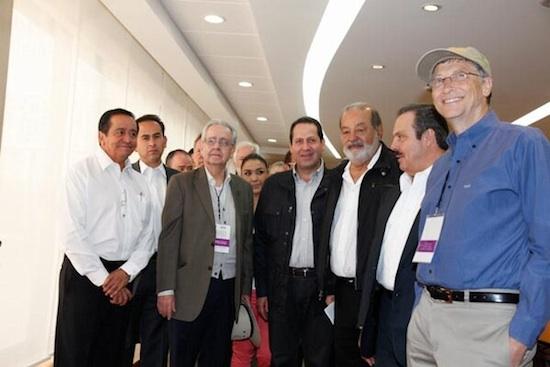Bill Gates y Carlos Slim 02