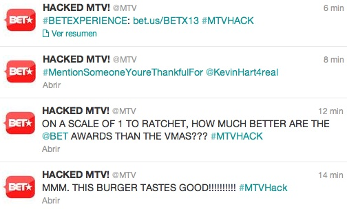 MTV hackeado