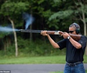 Obama en Campo David