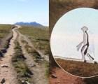 """Captan la imagen de un """"extraterrestre"""" caminando por Taiwan"""