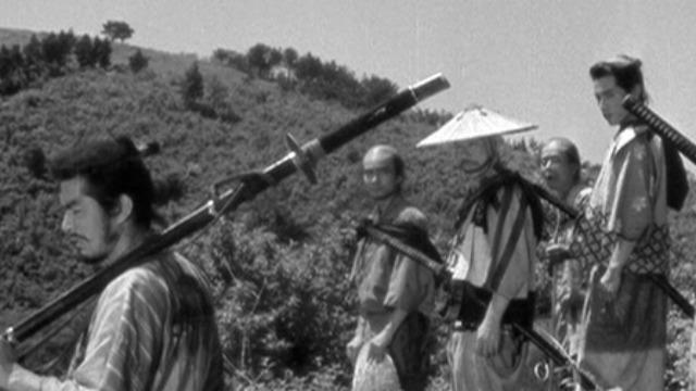 """""""Los Siete Samurais"""" (1954)"""