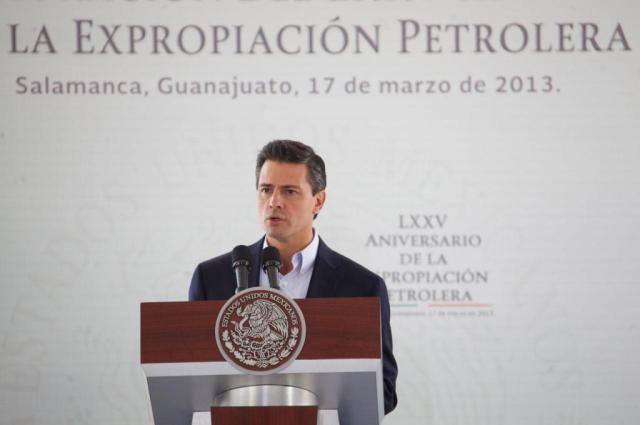 epn expropiacion petrolera