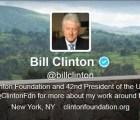 Bill Clinton, el primer presidente estadounidense en mandar un e-mail, se une oficialmente a Twitter
