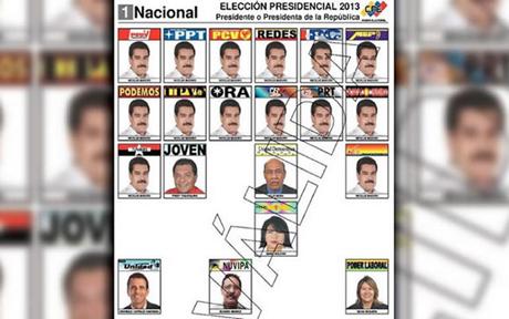 boletas electorales venezuela
