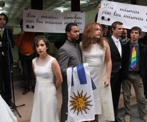 matrimonios gay uruguay homosexuales
