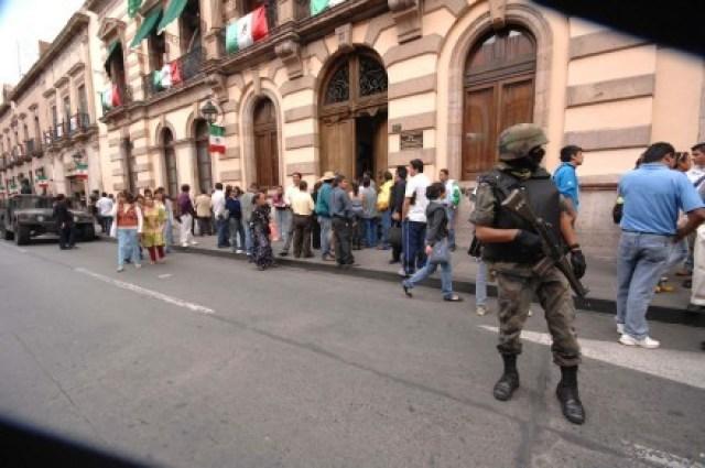 michoacan amenaza bomba