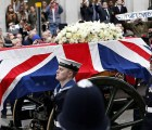 Galería: Los polémicos funerales de Margaret Thatcher