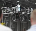 ¿Quién más quiere una bicicleta voladora como ésta?