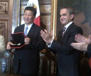 china llaves de la ciudad mancera