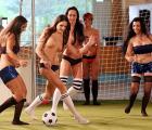 Así se vive la Eurocopa de mujeres... ¿desnudas?