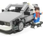 """""""Volver al Futuro"""", versión Lego"""