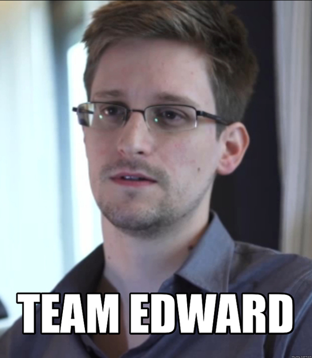 team edward snowdan