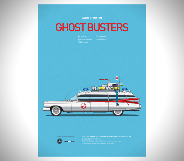 Iconic-Cars-and-Films-Posters-1