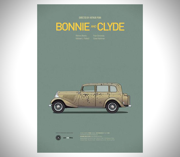 Iconic-Cars-and-Films-Posters-6