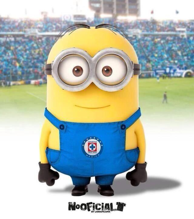 Minion-Cruz-Azul