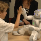 El robot para vacunar a los niños