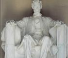 El monumento a Lincoln es vandalizado