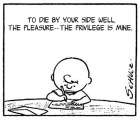 Morrissey + Charlie Brown = Epic win!