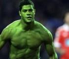 El futbolista brasileño, le hace honor a su apodo y se pone verde de coraje