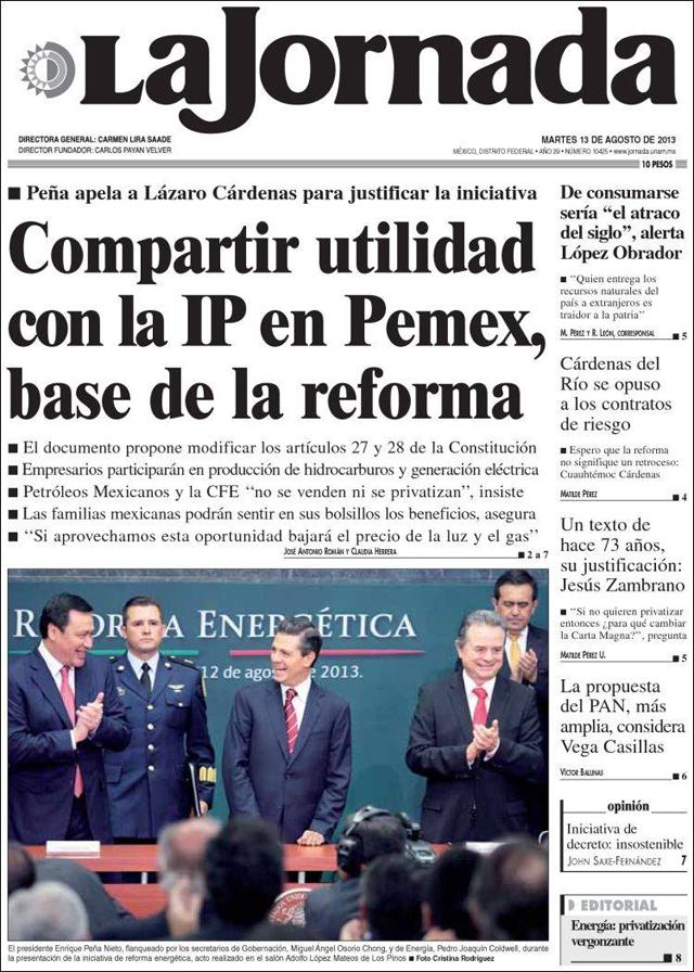 mx_jornada. reforma energetica