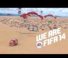 """Checa el nuevo comercial del FIFA 14 con """"Chicharito"""", Messi, Bale y más!"""