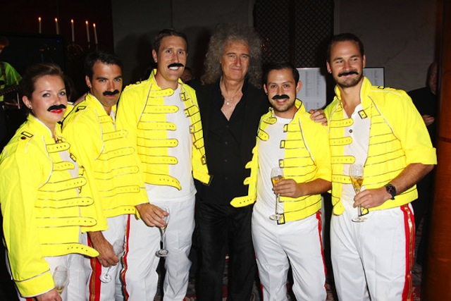 freddie for a day brian may