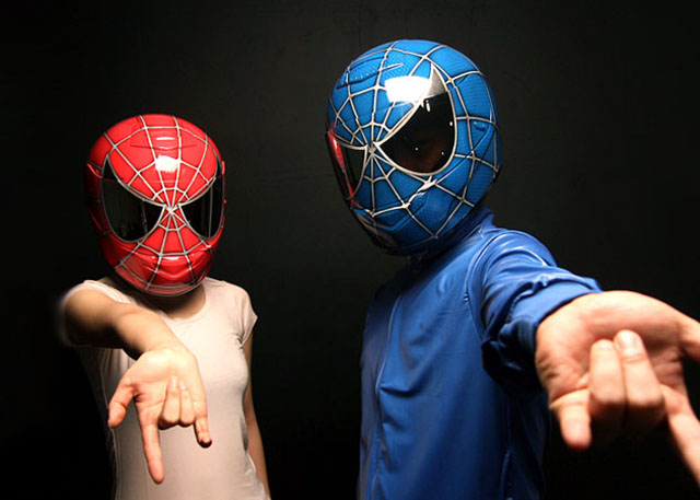 spider man casco