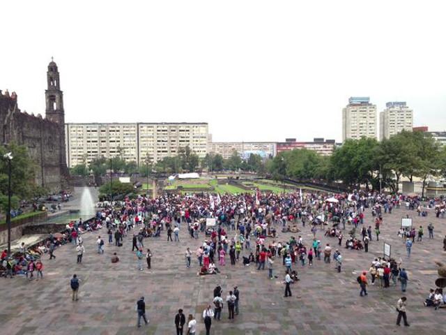 tlatelolco marcha
