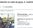 En España, se renta banca en 750 euros al mes