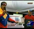 Maduro asegura que Chávez apareció en excavación del metro en Venezuela