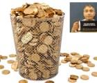 Hombre tira a la basura 500 mil dólares en oro para no dárselos a su ex