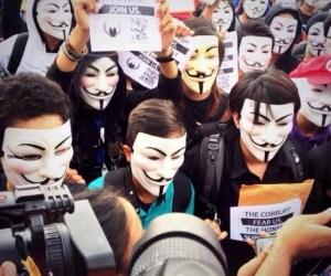 marcha mascaras