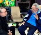 Nueva imagen de Fidel Castro tras meses de ausencia