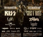¡Kiss y Guns N' Roses se suman al Hell & Heaven Fest de México! (+ bandas por día)