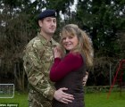 ¿Por qué este soldado no reconoció a su esposa al volver de Afganistán?