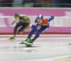 El patinaje de velocidad en Sochi como si fuera Mario Kart