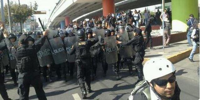 manifetsaciones en toluca protestas